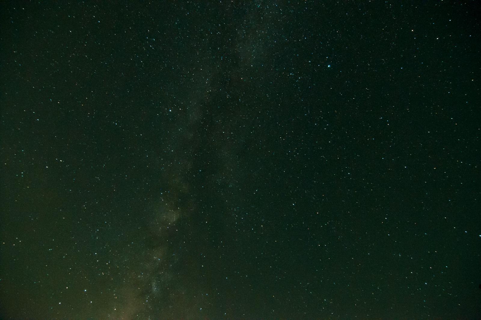 星空を撮影に行った帰り、たまたま出会った秩父の夜明け