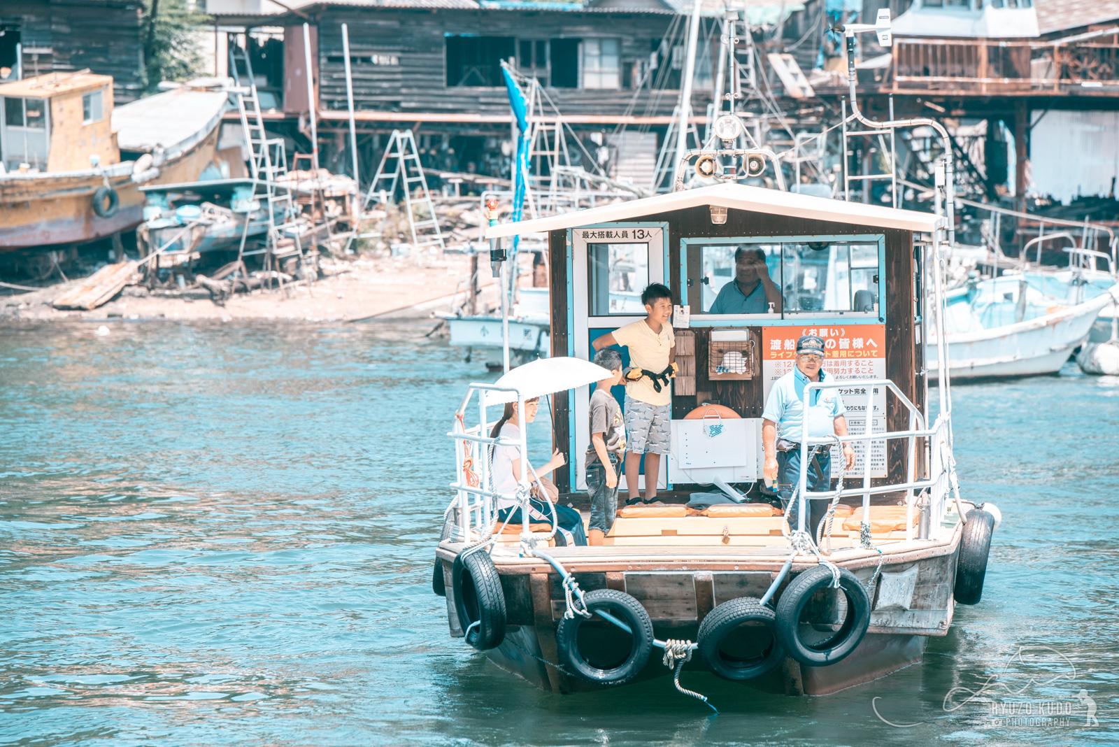 のどかな海路「三津の渡し」、いまだに残る地元民の足