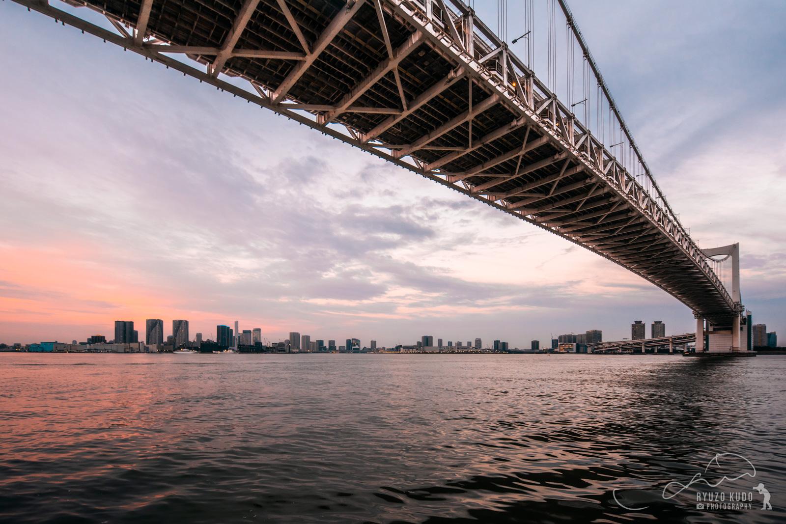 東京の夕景をダイナミックに!レインボーブリッジから夕陽に染まる東京を堪能してきました