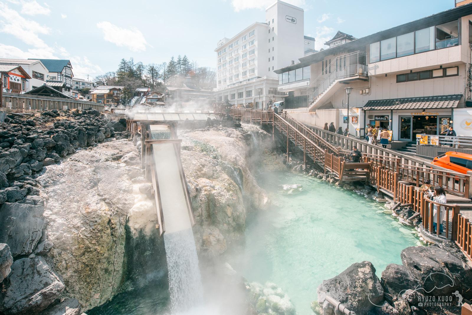 7年ぶり2度目の草津温泉。幻想的な湯畑を堪能してきました。