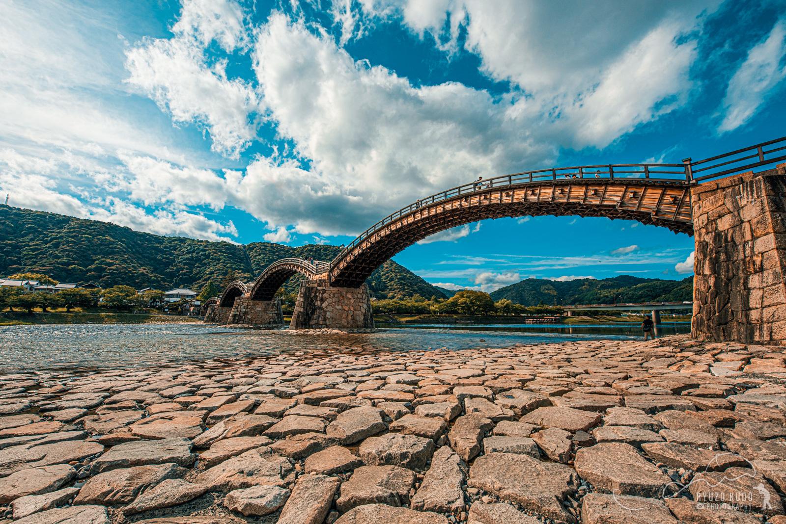 ようやく訪れることができた山口県岩国の錦帯橋、思い出の橋