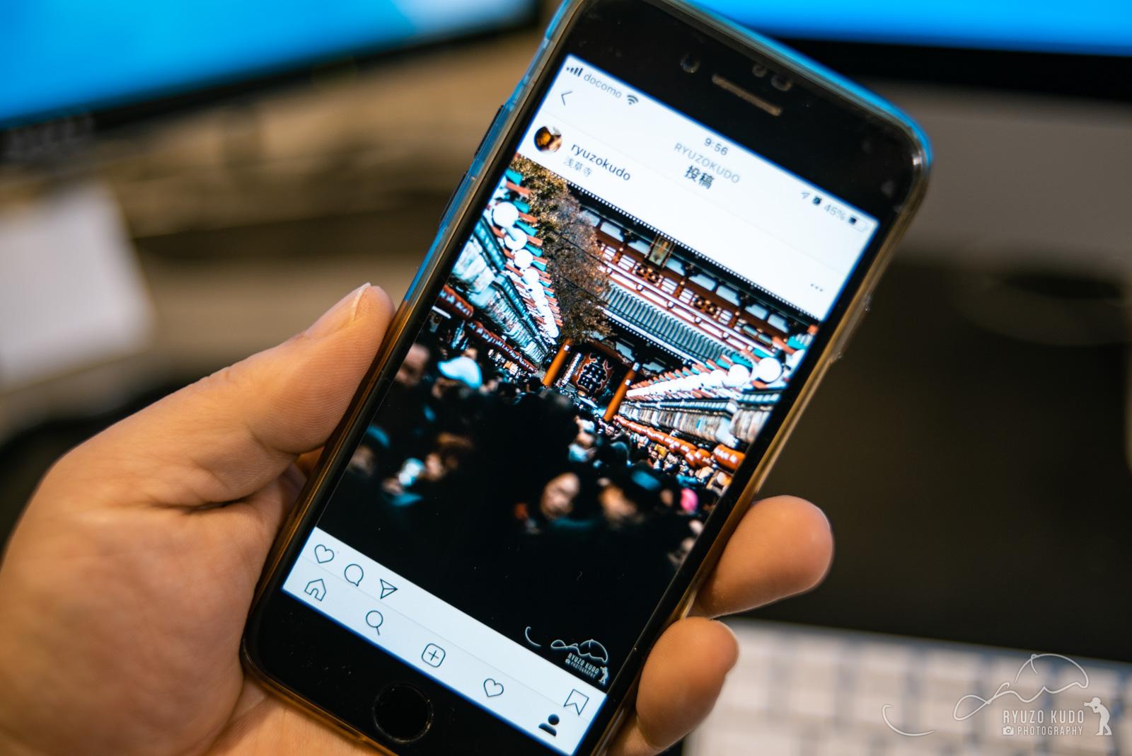 Instagram投稿に最適な縦構図の画像をLightroomで書き出す方法